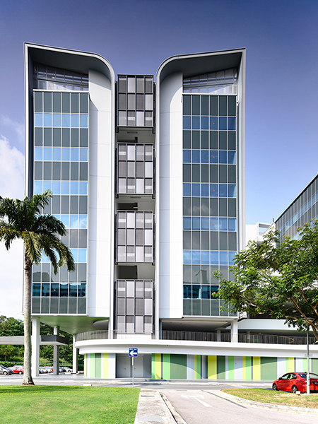 Forum Architects Pte Ltd East Wing At Temasek Polytechnic