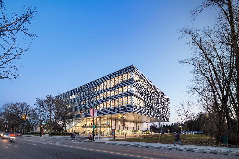 Teeple Architects Inc. with Proscenium Architecture + Interiors Inc.
