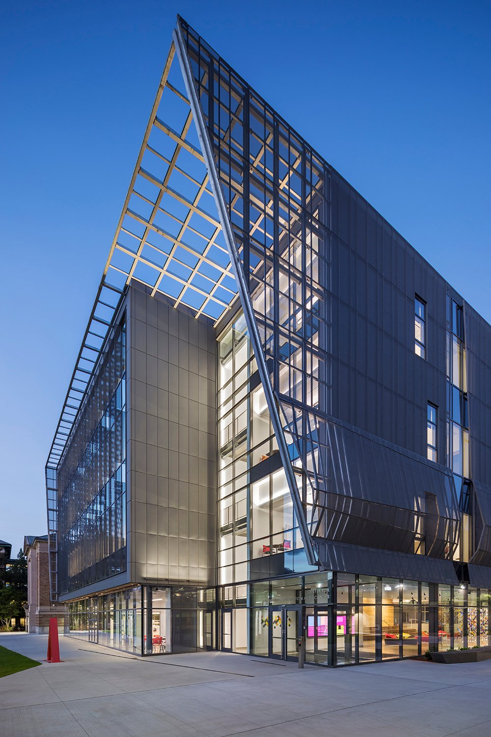 Leers Weinzapfel Associates Center For Engineering Innovation And Sciences Wentworth Institute Of Technology