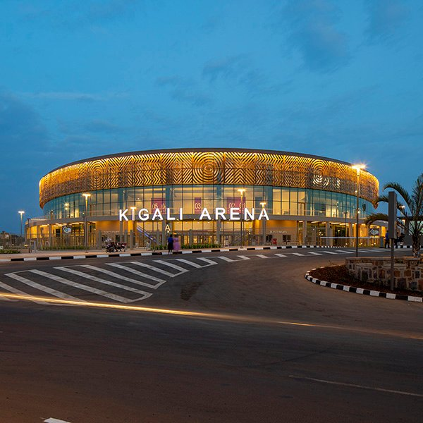 Yazgan Design Architecture Kigali Arena A Multi Functional Sports Hall In Rwanda