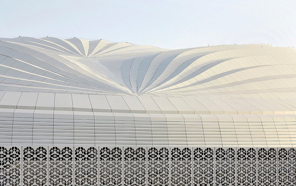 Zaha Hadid Architects The First New Stadium For The 2022 Fifa World Cup Qatar Al Janoub Stadium