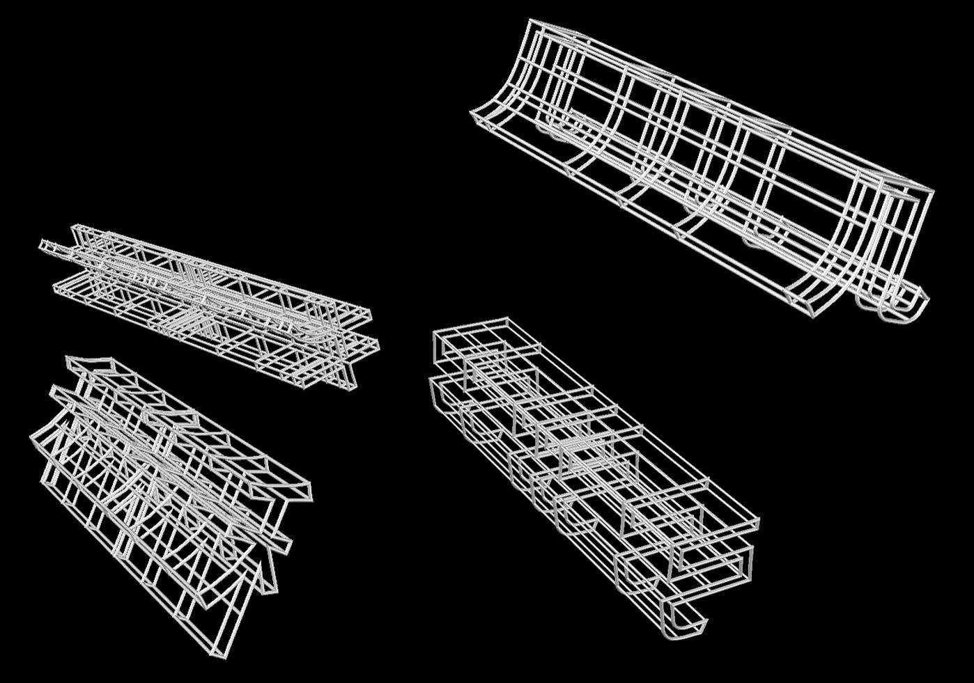 3D diagram  }