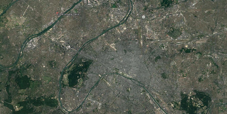 Satellite view }