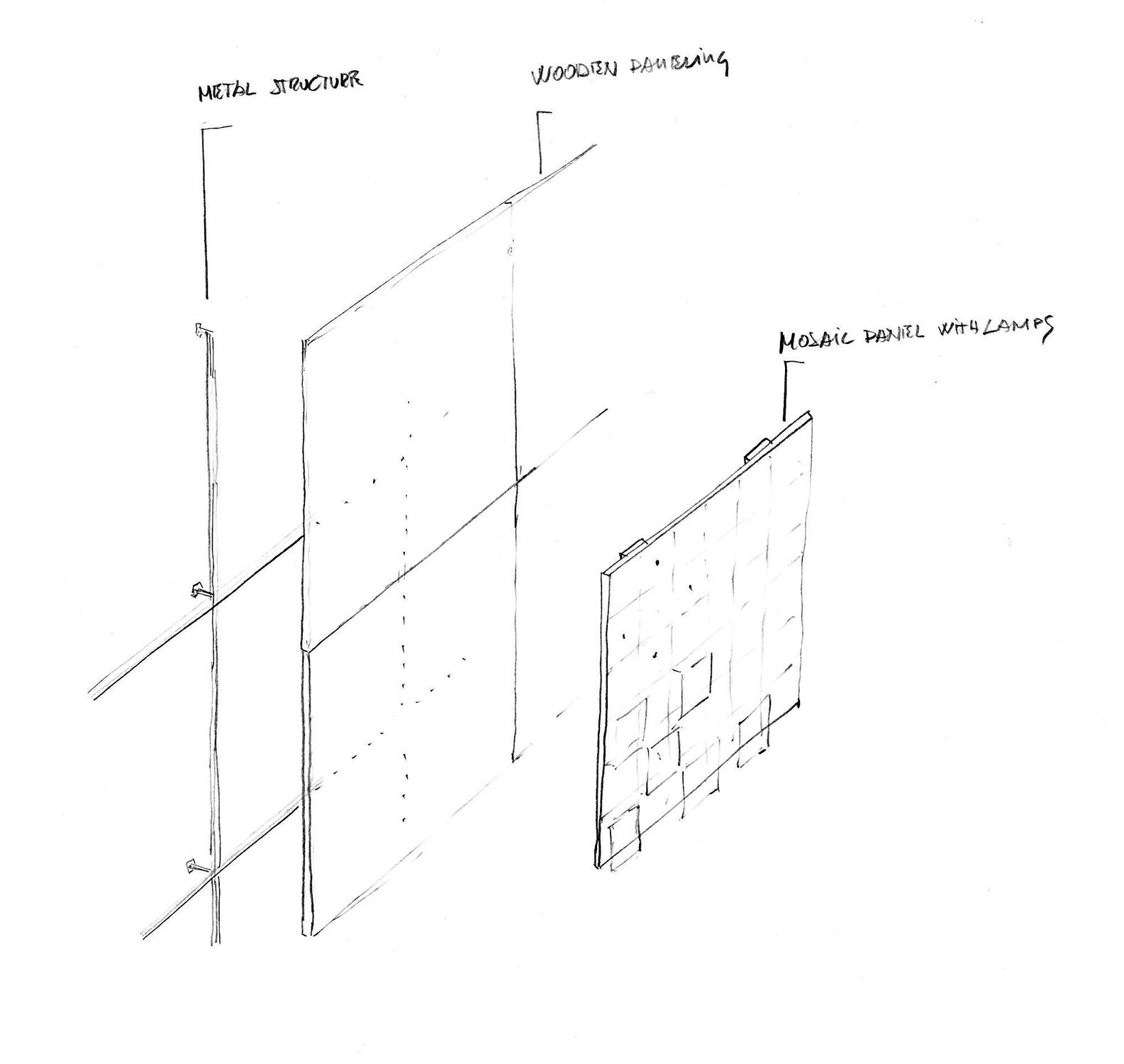 Conceptual sketch Cristofori Santi Architetti}