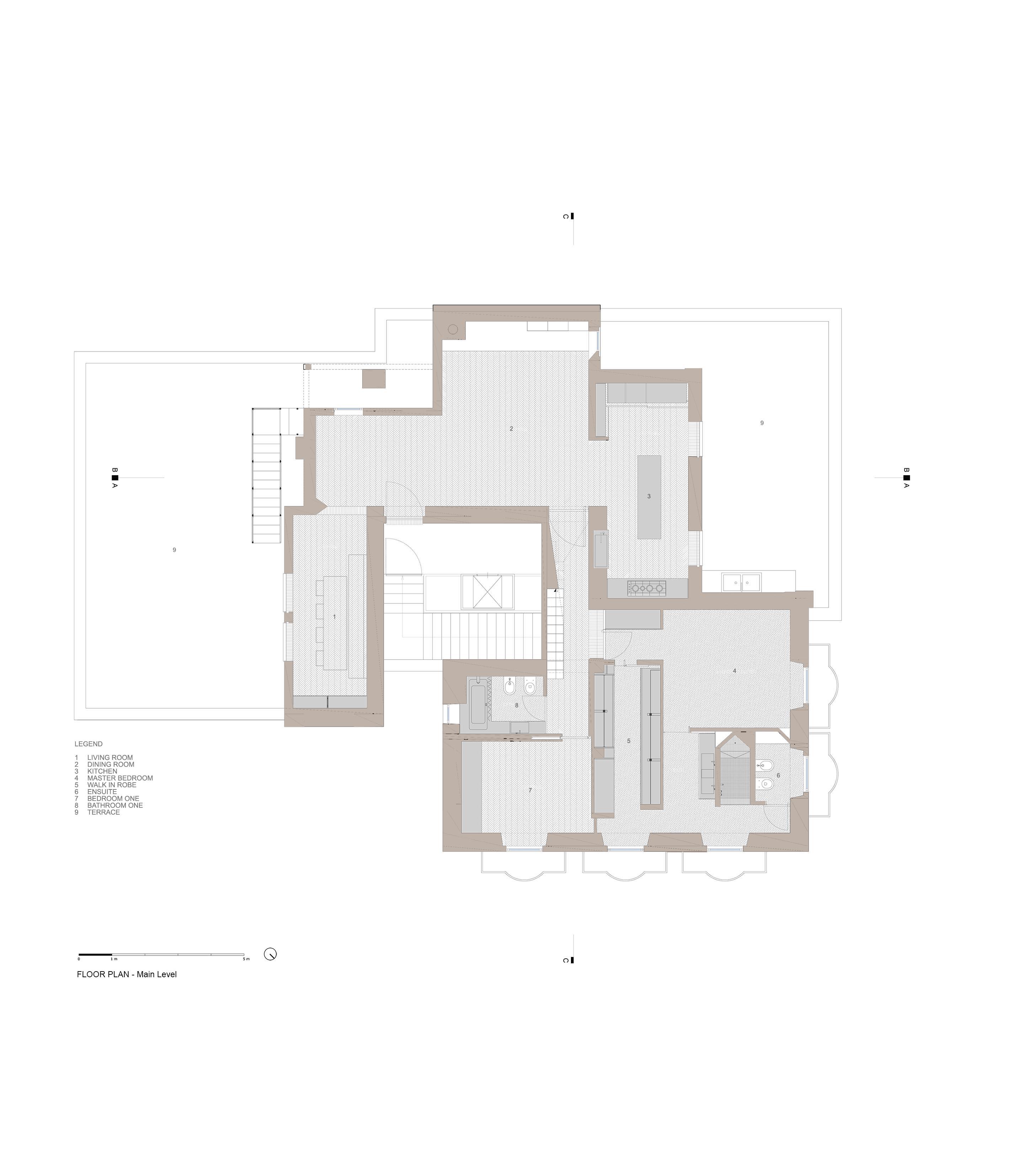 Floor Plan - Main level }