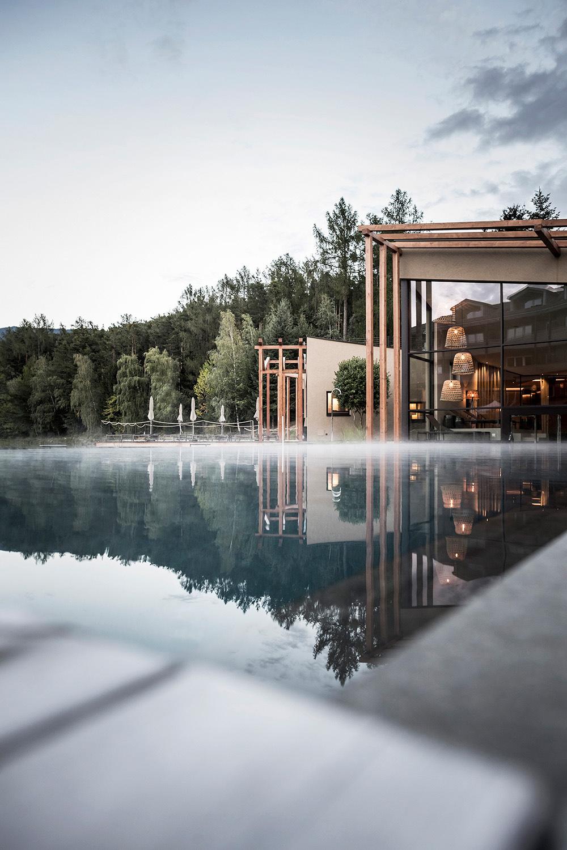 wellness area with outdoor pool Alex Filz