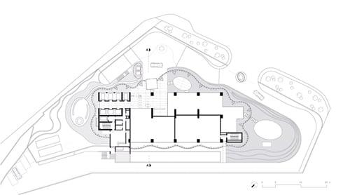 Maslak No.1 Tower - Ground Floor Plan }