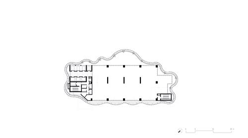Maslak No.1 Tower - First Floor Plan }