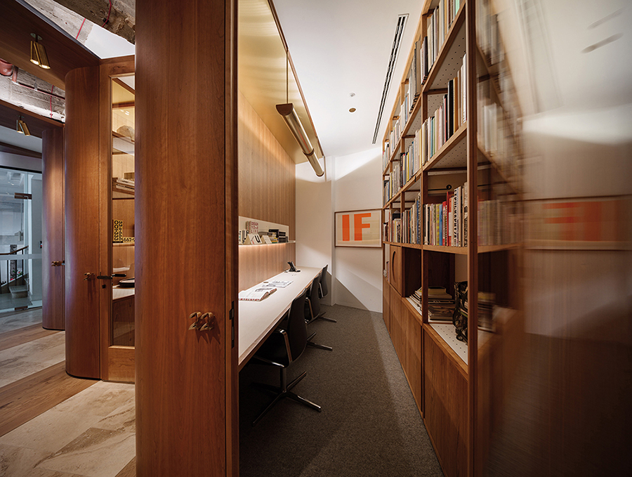 Private office space  }