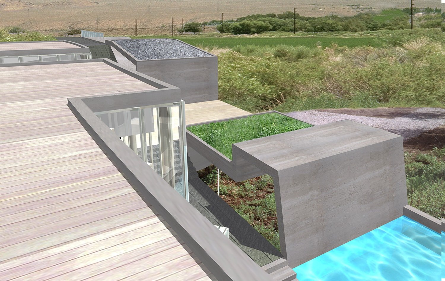 Exterior View Rendering: Lawrence Kim}