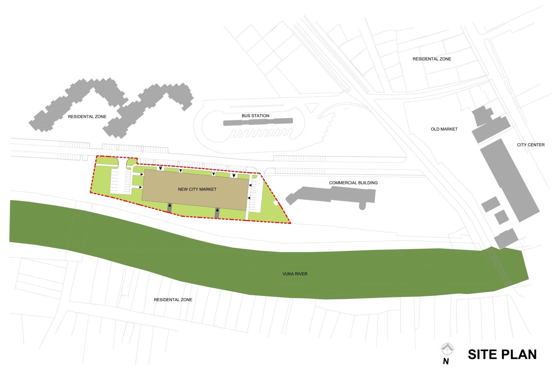 Site plan Rechner Architects}