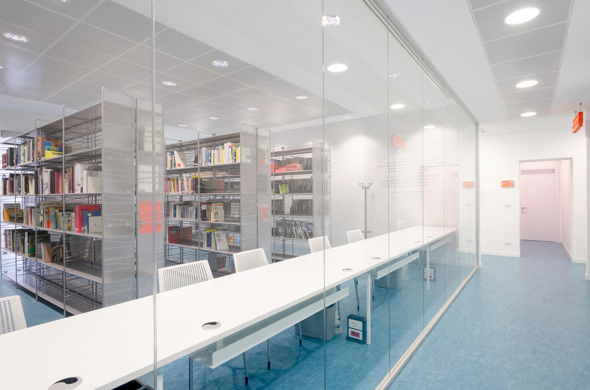 vista della sala lettura