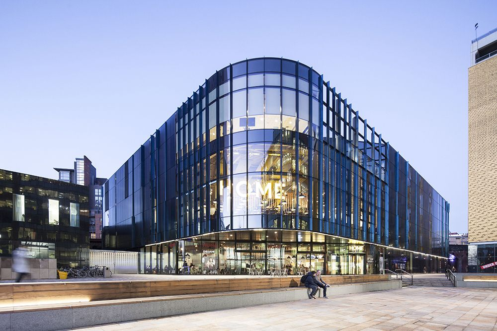 HOME is a flagship building that acts as a catalyst for the surrounding area