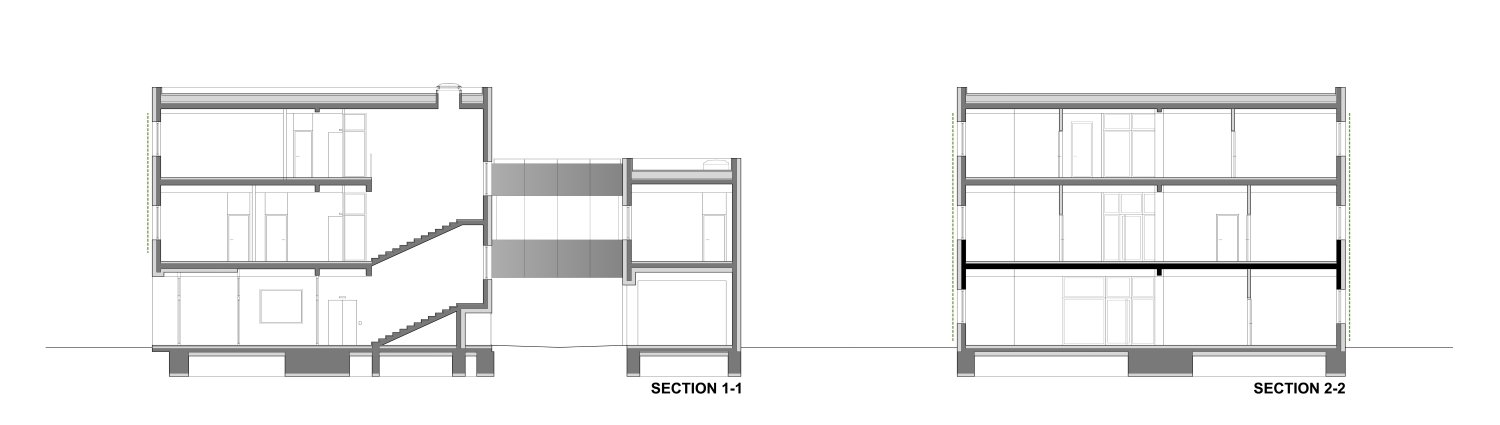 Sections Rechner Architects}