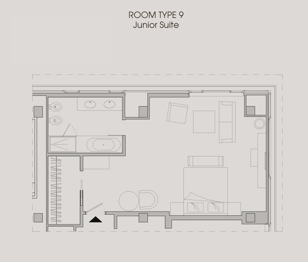 Room type - Junior suite }