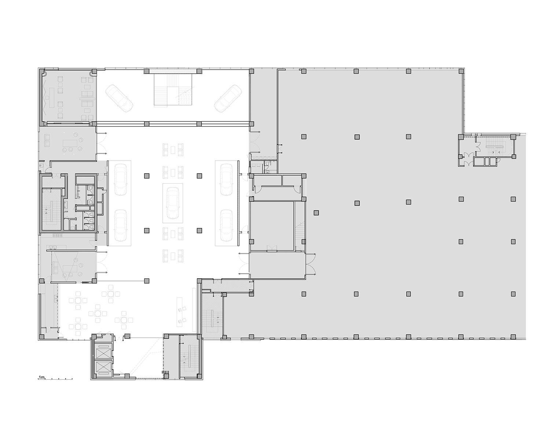 Lower floor plan Crossboundaries}
