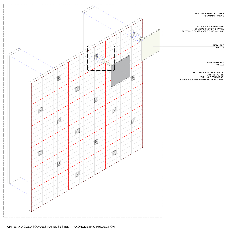 Facade panel system Cristofori Santi Architetti}