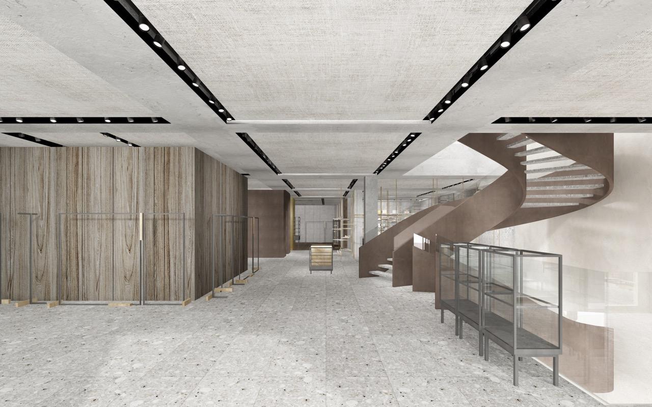 concept render _ ground floor entrance }