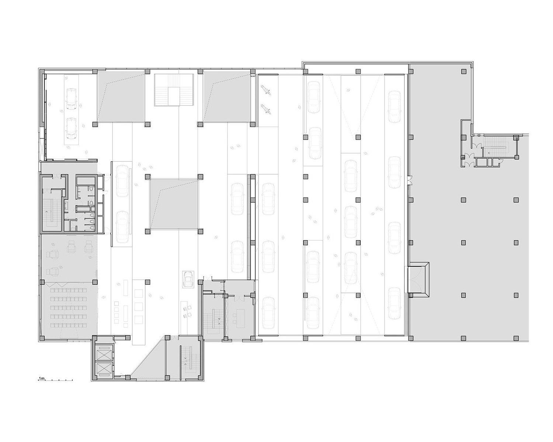 Upper floor plan Crossboundaries}