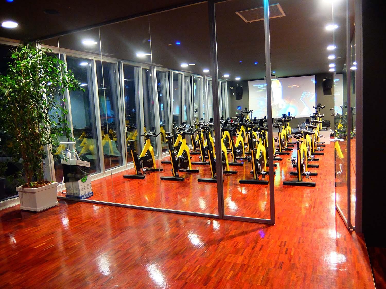 vista sala indoor cycling }