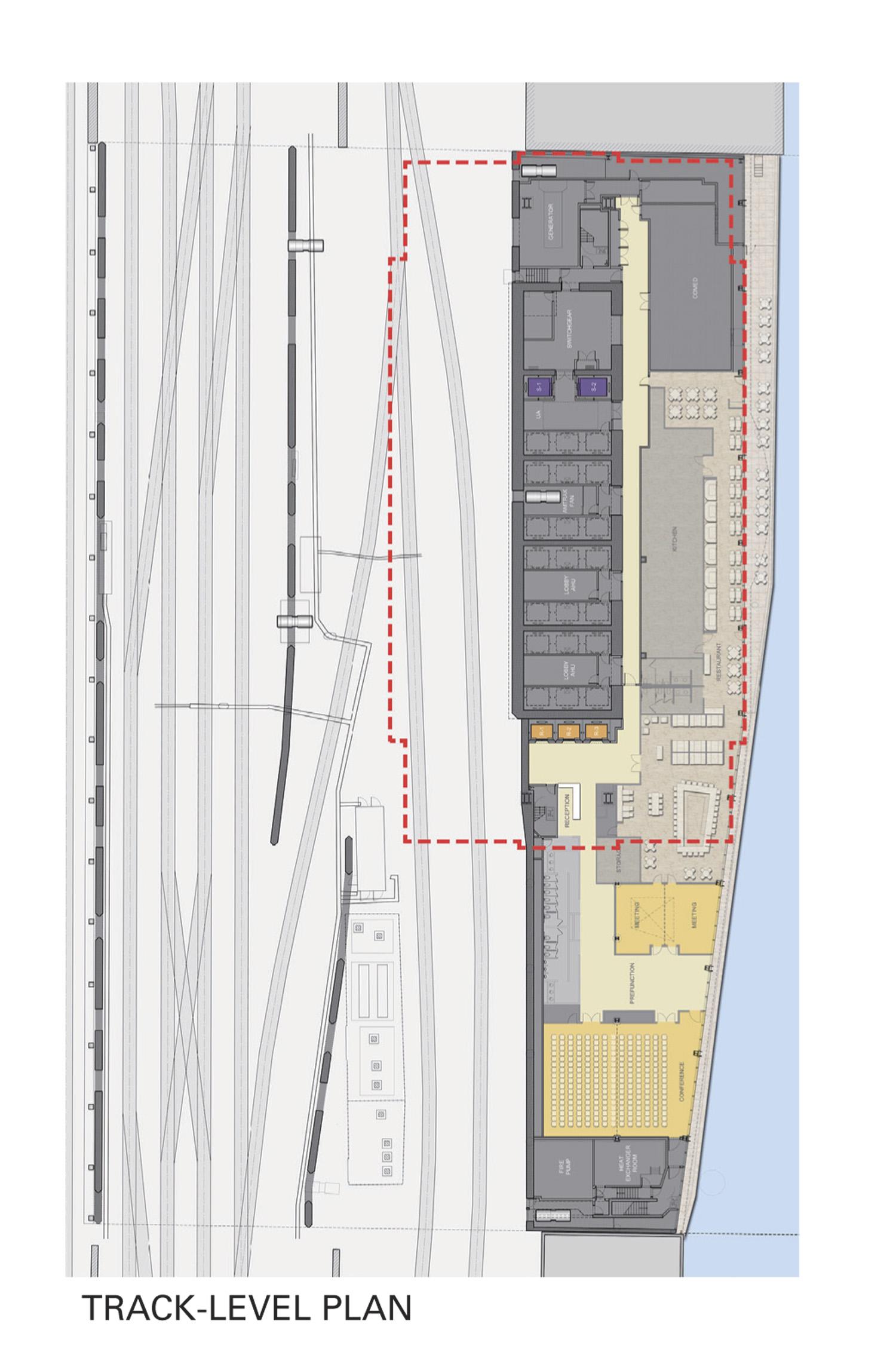 Track Level Plan Goettsch Partners}