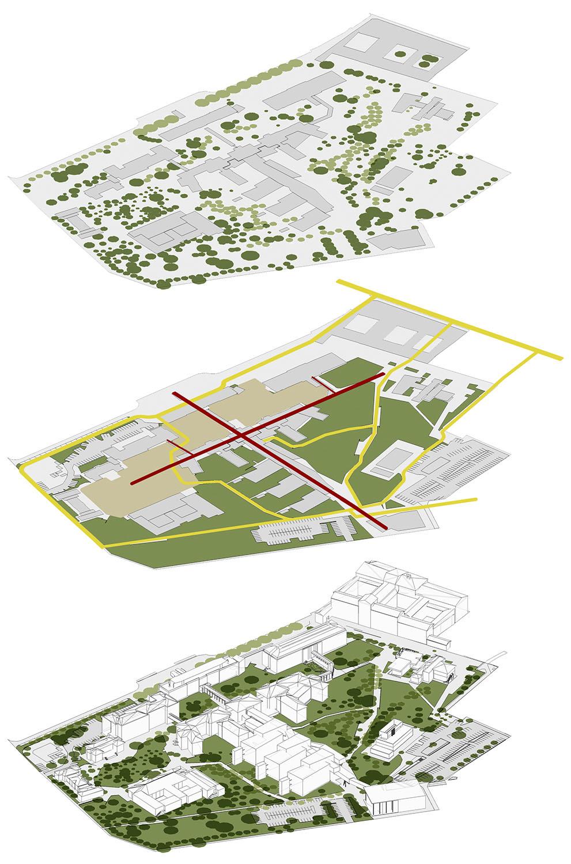 aree verdi, parco e spazio pubblico }