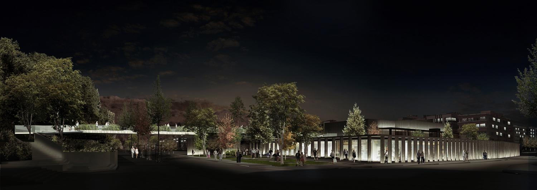 BerKM Bergama Cultural Center - Rendering }