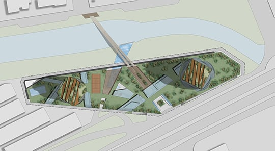 MISTRAL  & MIRAY MIXED USE COMPLEX - Masterplan }