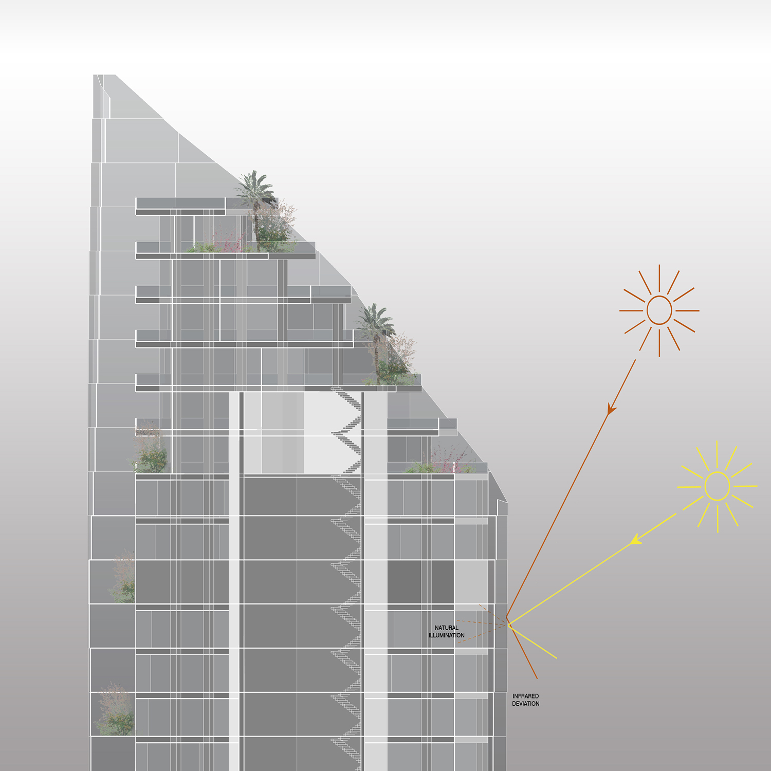 MISTRAL  & MIRAY MIXED USE COMPLEX - Sun }