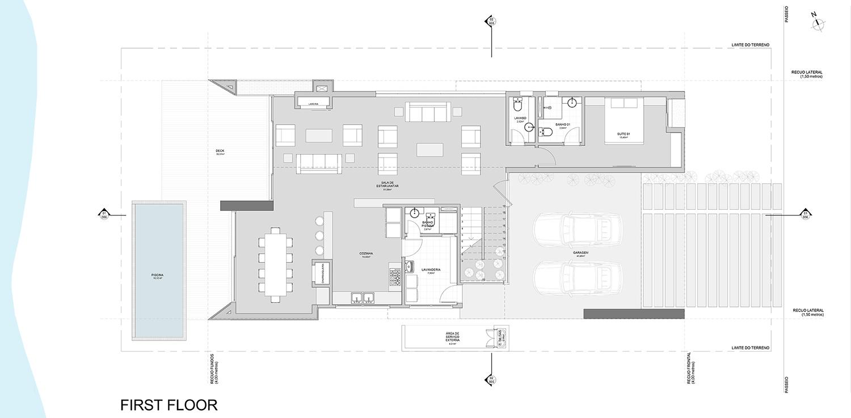 1º floor }