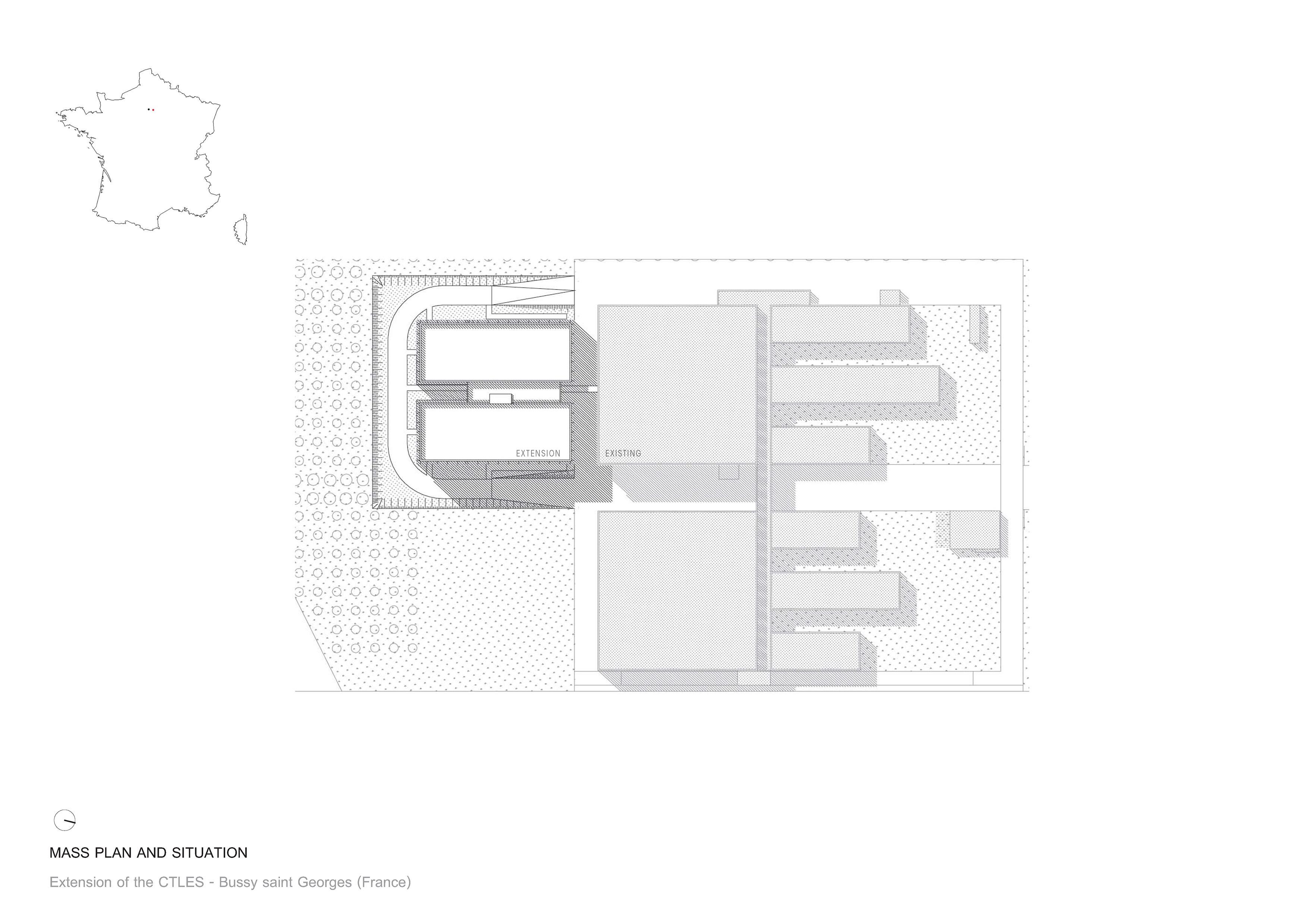 Mass Plan ANTONINI DARMON architects}
