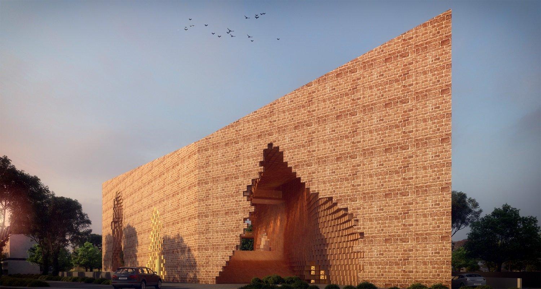 FRONT VIEW SANJAY PURI ARCHITECTS