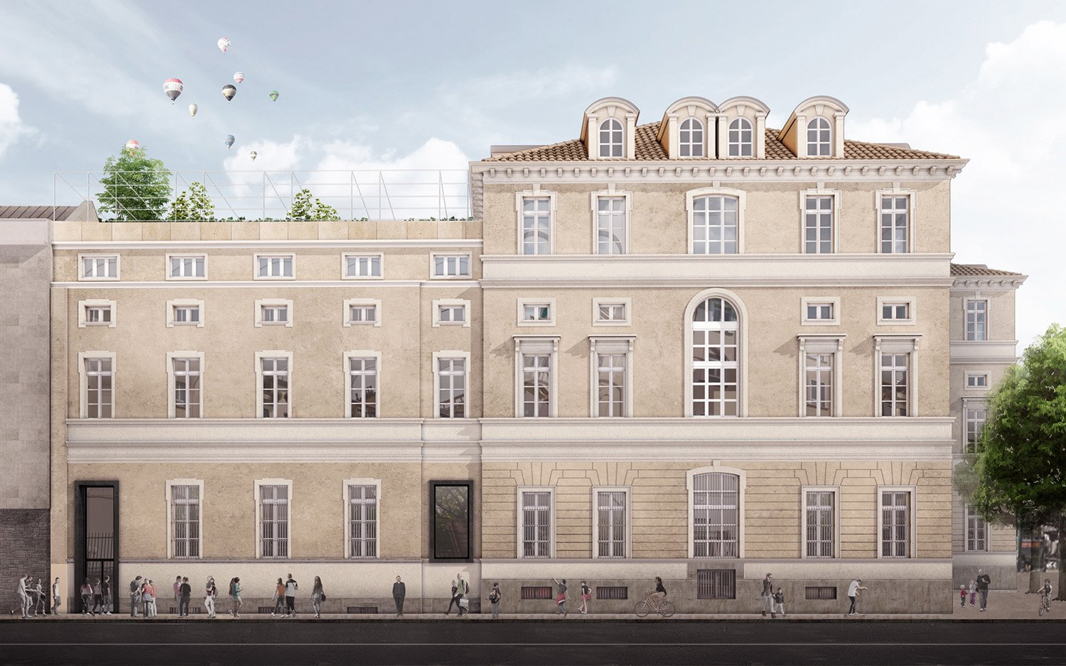 Front side elevation Eugenio Chironna