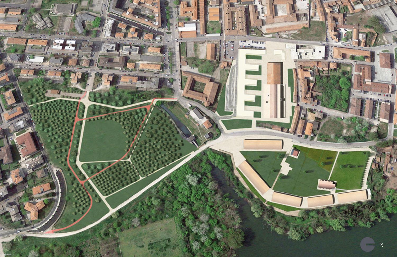 Mantova HUB - Masterplan Generale Archivio Corvino + Multari 2017}