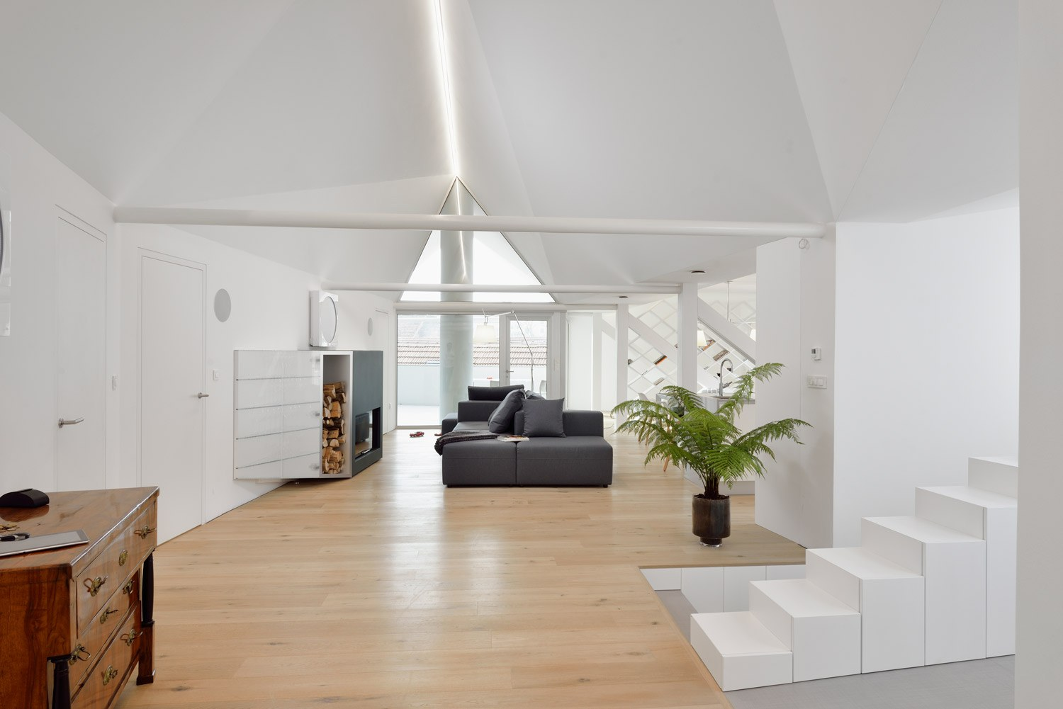 Living area with terrace Miran Kambic