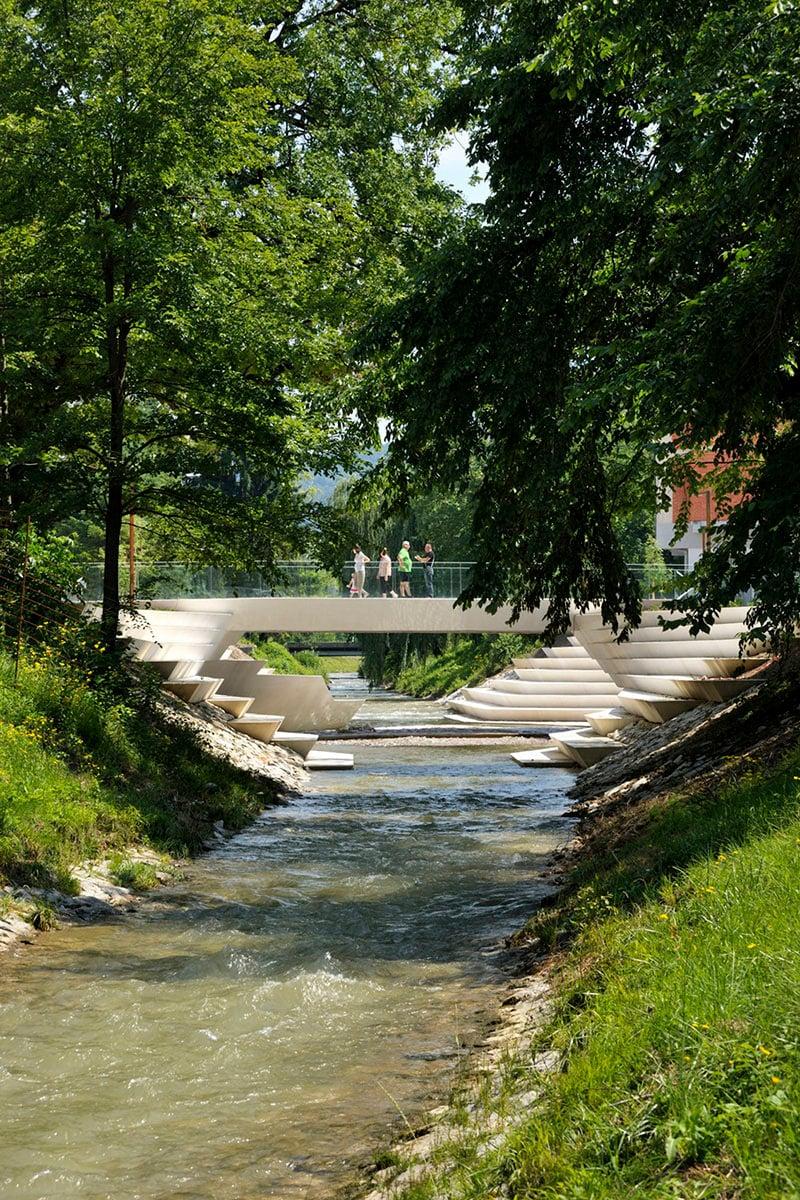 river amphitheatre