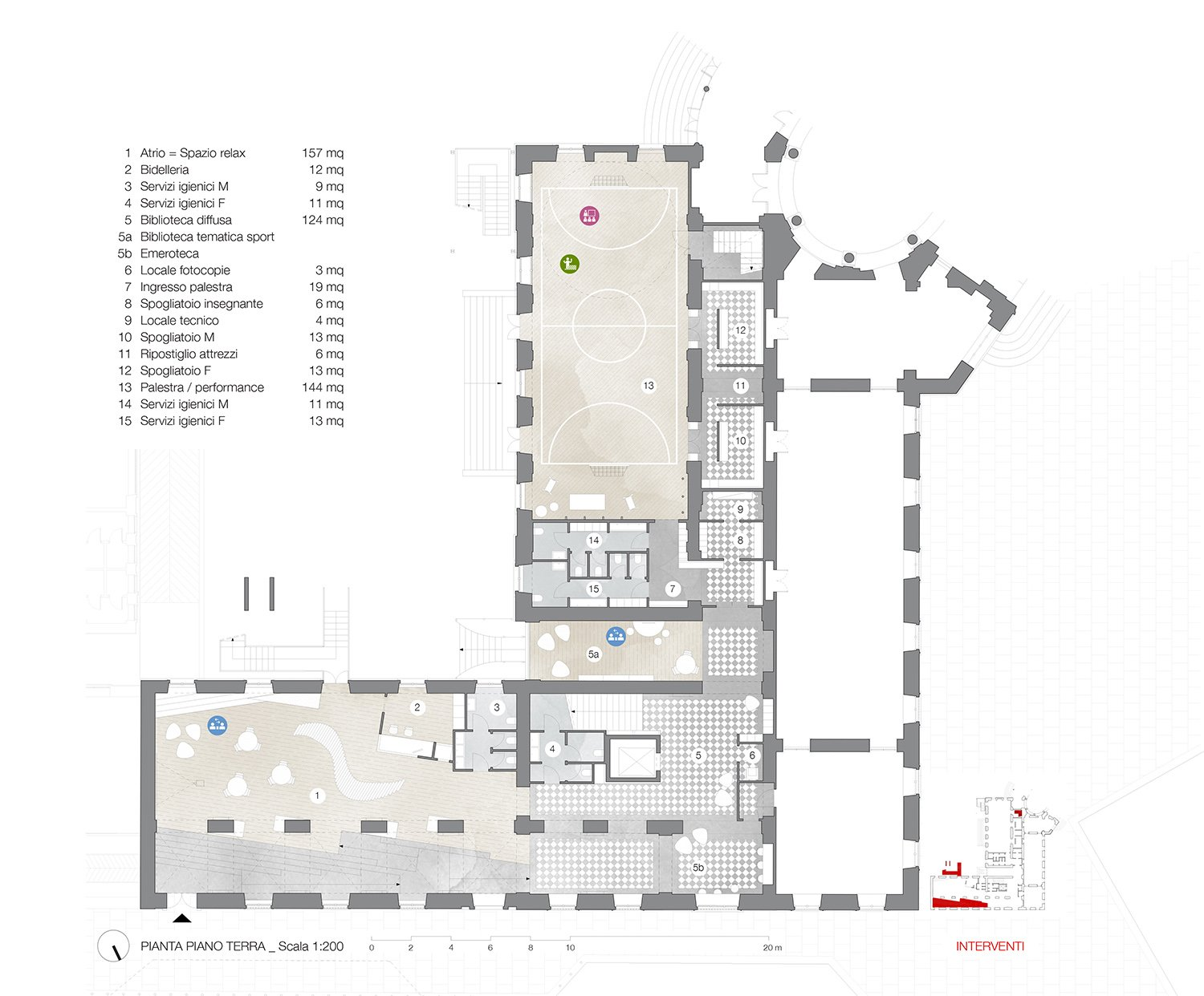 Ground floor plan Archisbang+Areaprogetti}