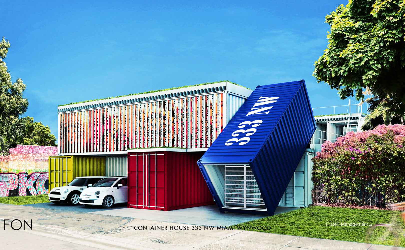 CONTAINER HOUSE 333 NW MIAMI WYNWOOD }