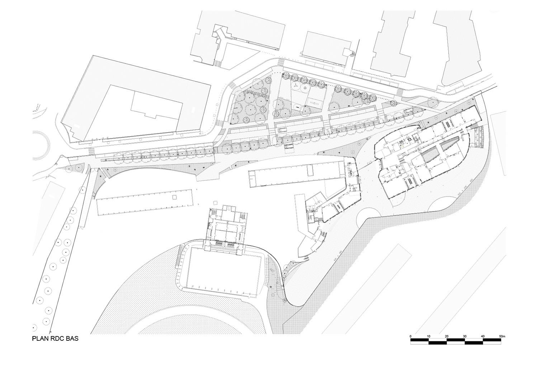 Low ground floor plan }