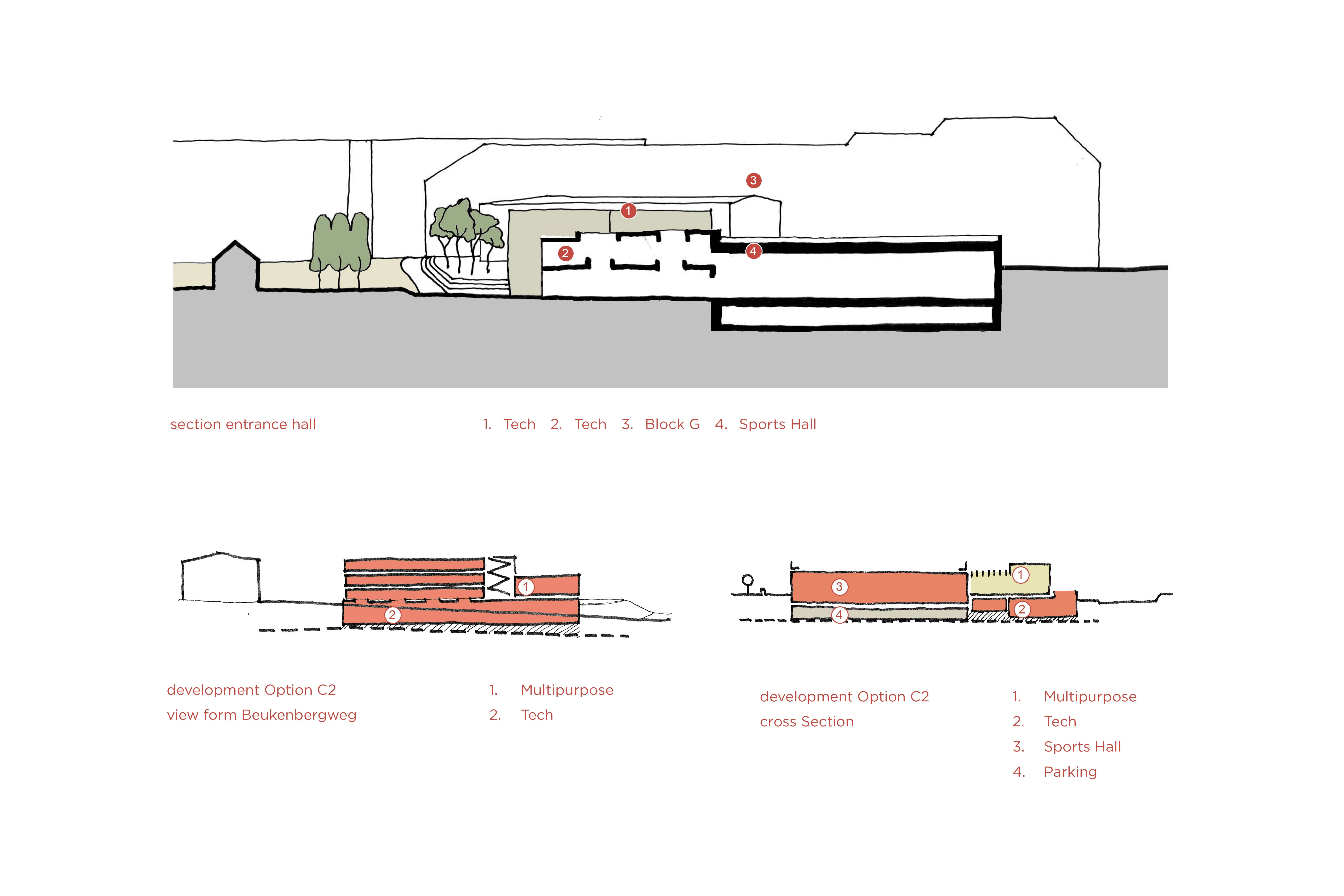 Initial Concept Sketches Coady Architects / ELD Partnership}