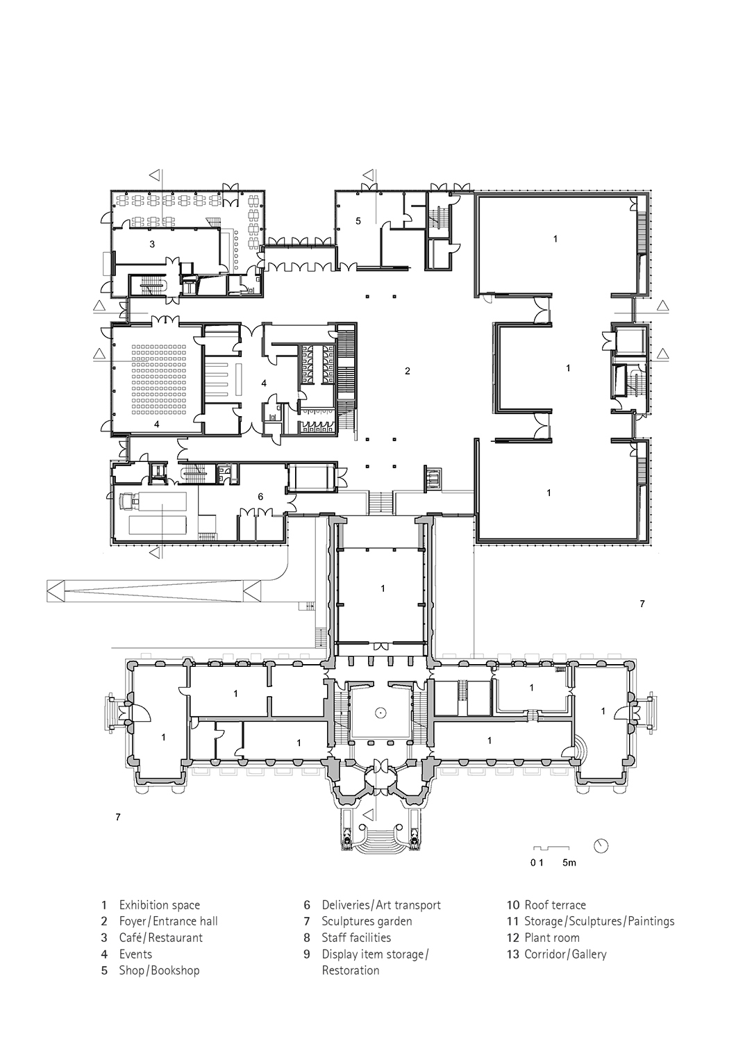 First floor © gmp Architects}