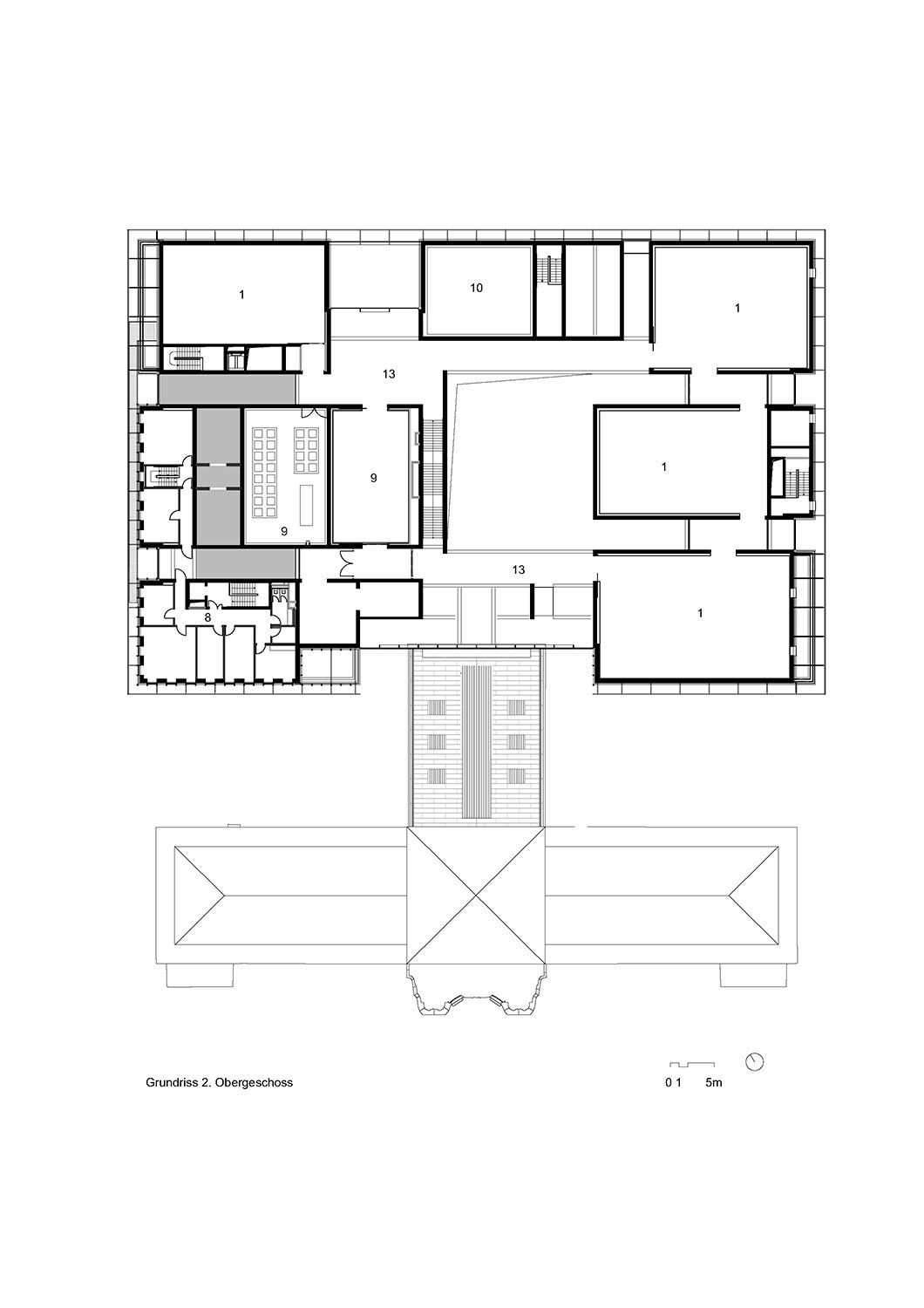 Third floor © gmp Architects}
