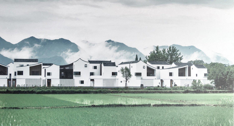 A typical Jiangnan Village gad}