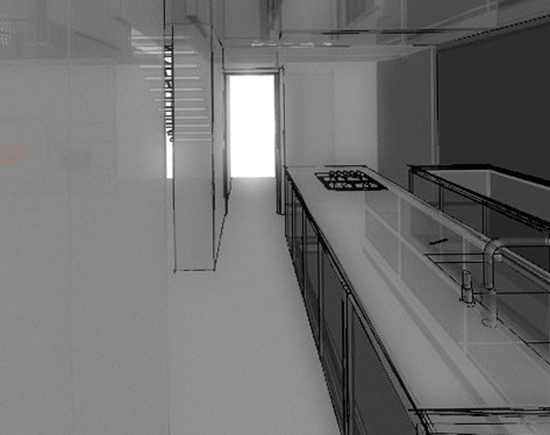 Studio tridimensionale del progetto Arch. Alessandra Piras