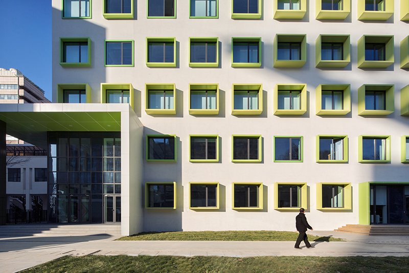 Learning center facade WANG Ziling}