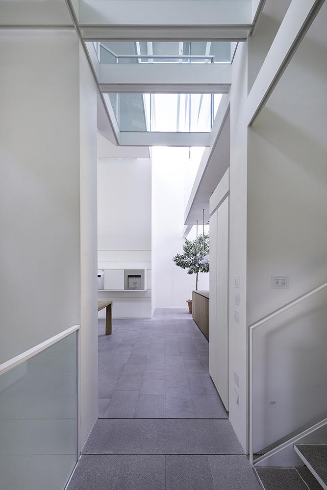 Ingresso Meeting room/Living room - piano primo Filippo Poli