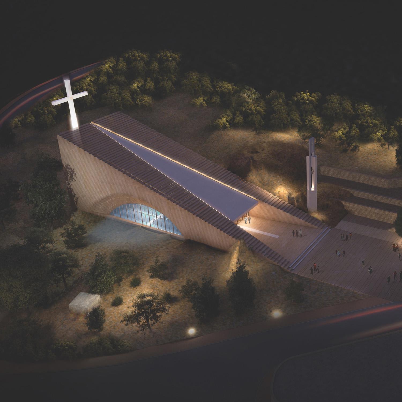 Hrajel Church_ Night view