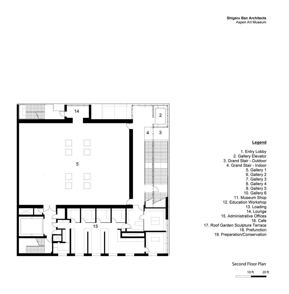 Second Floor Plan }