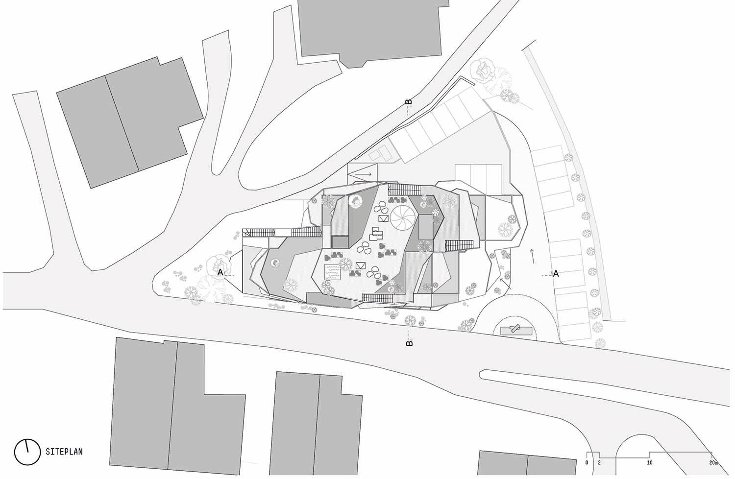 Siteplan noa* network of architecture}