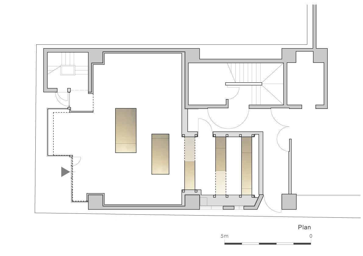 Floor Plan Ryuichi Sasaki/Sasaki Architecture + Rieko Okumura/Atelier O}